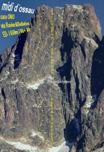 Midi d'Ossau: 3 Grandes rutas en la Norte (yII)