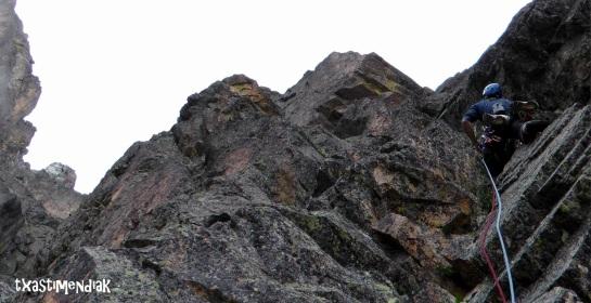 Buena roca y pasajes muy variados...