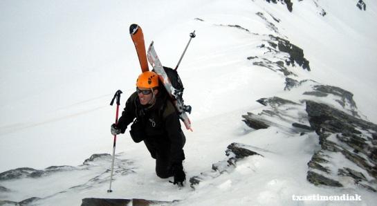 Ya solo queda echar las tablas a la nieve y disfrutar...