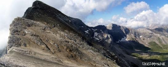 De camino al Pico Heid...
