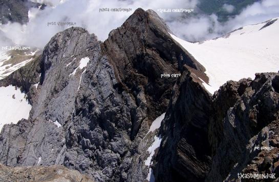 Desde la cima del macizo de Vignemale (3.298 m)