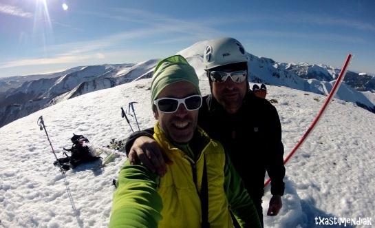 En la cima del Cabeza Parda (2.106 m)