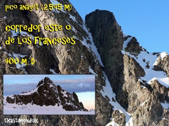 Todo un clásico pirenaico: el corredor este del Pico Anayet...