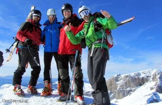 Buena petxada!! Pico Lecherín (2.570 m)