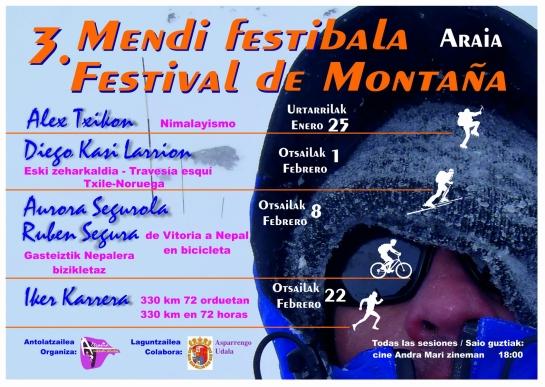 cartel festival de montaña