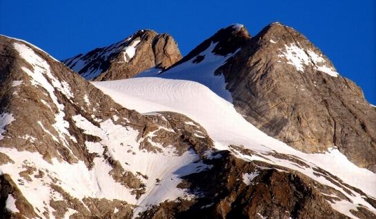 El glaciar de Ossoue...