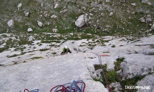 Txipristiña L1, 45 m, 6a+