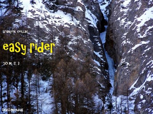 """Vista de """"Easy Rider"""" en Ceillac"""