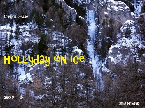 "Vista lejana de la zona de ""Holliday on ice"""