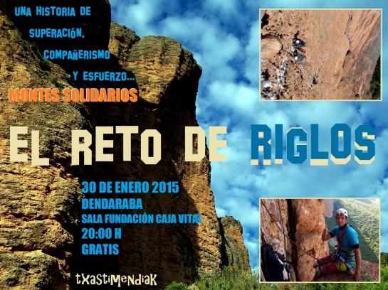 Montes solidarios - El RETO DE RIGLOS