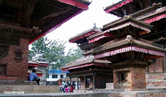 Corazón turístico de Kathmandú