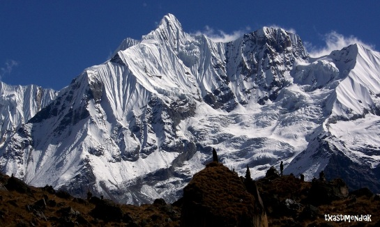 Entorno soberbio del Annapurna