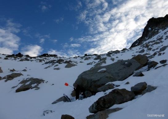 Parada y fonda a 2.900 m