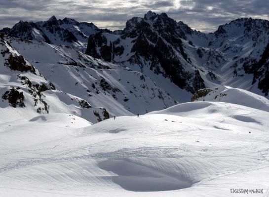 Aproximaión por el entorno de la estación de esquí de Barèges