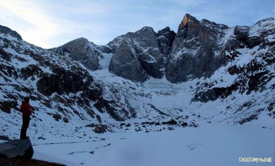 El murallón norte del Vignemale: un escenario para disfrutarlo y escudriñar sus míticas rutas...