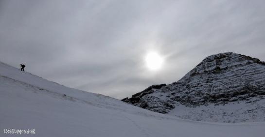 Ascenso corto y con vistas...