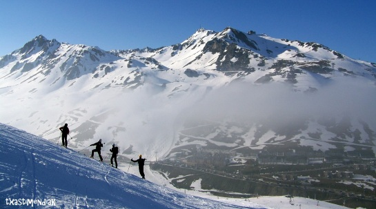 Un gran finde con la Escuela Alavesa de Alta Montaña