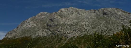 La vertiente sur del Espigüete, desde Cardaño de Abajo