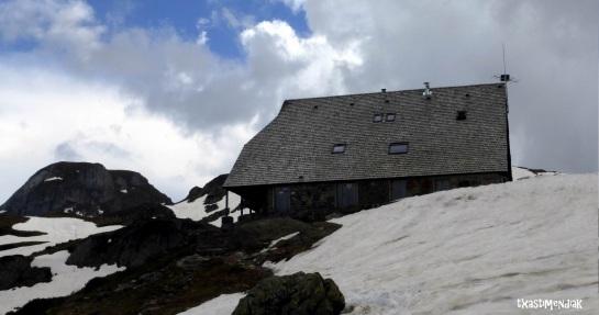 Llegada al refugio de Ayous (1.980 m)
