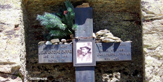 homenaje al héroe italiano del 1865