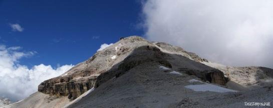De camino al Piz Boé (3.152 m)