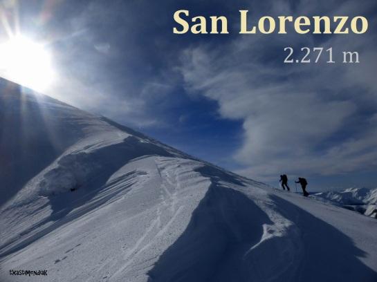 Cerca de la cima de San Lorenzo, en un ambiente muy patagónico...
